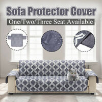 3 Seat Waterproof Pet Dog Quited Sofa Couch Cover Furniture Protector Slipcover