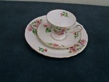 TUSCAN ( BIRTHDAY FLOWERS ) *AUGUST'S POPPY *  CUP, SAUCER, PLATE TRIO