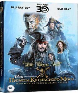 Pirates of the Caribbean: Dead Men Tell No Tales (Blu-ray 3D+2D) Eng,Rus,Esp,Por