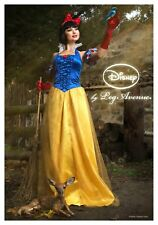 Disney Official Licensed Princess Snow White Halloween Costume Wig Gloves Size S