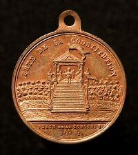 Frankreich, Revolution 1848, Medaille Fete de la Constitution