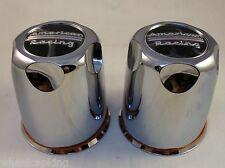 American Racing Wheels Chrome Custom Wheel Center Caps Set of 2 # 1327000