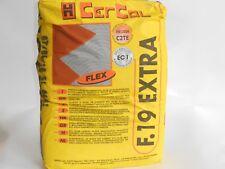 Colla,adesivo,per piastrelle in gres,klinker,ecc. F.19 Grigia sacco kg.25 Cercol