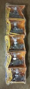 (LOT OF 5) CHROME Brass Craft OFR12C Flare Straight Stop Valve 1/2 in 3/8 in