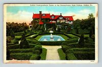 DuBois PA, Pennsylvania State College, Vintage Pennsylvania c1939 Postcard