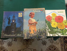 3 vintage attic find magazines, Phila Garden Show,Franklin Mint & Vista Travel68