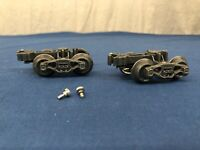 K-line Die-Cast 2 Sprung Trucks, Couplers & Screw For K-line Ore Cars
