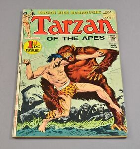 Tarzan of the Apes # 207 DC comic graded 6.5 FN+! 1st DC issue!