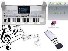 TYROS 4 USB-Stick+AMAZING Song Styles VOLUME 2  NEW