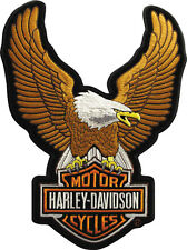 "HARLEY-DAVIDSON Parche/Emblema ""UPWING EAGLE MARRÓN"" patch emb328394 grande"