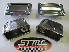 1970 71 72 MONTE CARLO NEW PAIR OF CHROME REAR ASH TRAY ASHTRAYS