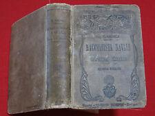 1917 ~ MACCHINISTA NAVALE ~ MILANO / MANUALI HOEPLI / 350 FIGURE