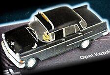 Opel capitán p II taxi 1959-64 negro Black 1:43 Ixo