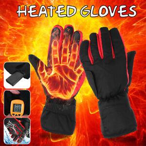 Elektrisch Beheizbare Handschuhe Thermo Winterhandschuhe  Batterie Beheizte