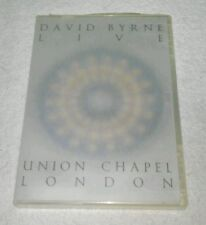 David Byrne - Live at The Union Chapel DVD 2003 BBC Video Once In A LifeTime