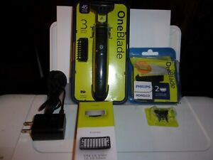Philips Norelco OneBlade Hybrid Electric Trimmer and Shaver QP2520/70 + Bonus