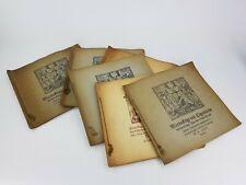 More details for 6 x vintage warhafftige und eigentliche trading card albums
