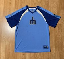 MLB Cooperstown Seattle Mariners Jersey Shirt Size Men's Large