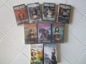 Patricia Briggs - 9 Novels - Supernatural - 6 Mercy Thompson and others