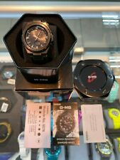 **BRAND NEW** CASIO G-SHOCK G-MS DIAMOND INDEX BLACK ROSE GOLD MSGS200BDD-1 NIB!