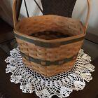Longaberger 1997 Edition Christmas Collection Snowflake Basket No Lid