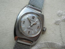 SUPER RARE 1970 VINTAGE DOCTOR LADY BULOVA, SWISS 17 JEWELS AUTOMATIC, SERVICED