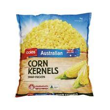 Coles Snap Frozen Corn Kernels 1kg