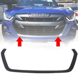 Front Lower Grille Cover Matte Black For Isuzu Dmax D-max Pickup 2020-2021 4WD