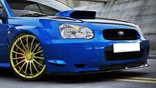 Cup Spoiler Lippe für Subaru Impreza WRX STI Lippe Frontspoiler Diffusor Schwert