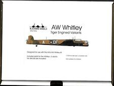 Blackbird Models 1/72 Aw Whitley Tiger Engined Variants Resin Conversion Kit
