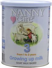 Nannycare Nanny Lait de chèvre Growing Up Nutrition 400 g