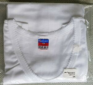 "Damart Thermolactyl Sleeveless Vest. White. Grade 3. Size L (40"")"