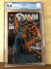 Spawn #7 (Jan 1993, Image) CGC 9.4 1st Randy Queen Art Todd McFarlane story art