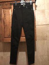 TOPSHOP WORN ONCE Black Skinny Jeans Sidney - Size 6 W 25 L 32