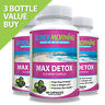 Max Detox Capsules With Acai Berry, For Colon Cleansing & Removing Toxins