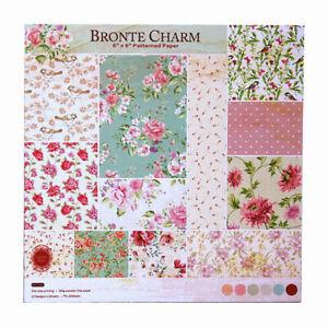 24Pcs Flower Paper Pad Sheet Origami Scrapbooking Craft Album Card DIY Craft