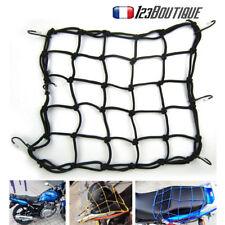Filet Porte Bagage MOTO SCOOTER  QUAD Casque Élastique Sacoche Réservoir 30X30CM