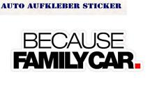 Because Racecar Colorés Sticker Autocollant Digital JDM Style TUNING chaud