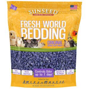 Vitakraft Sunseed Inc. Fresh World Bedding - Purple - 2130 cu in SSD18202
