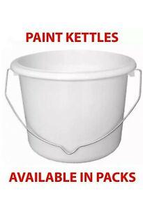 Plastic Paint Kettle Pots 1ltr ( 5pack)