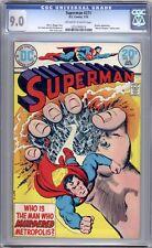 Superman #271  CGC Graded (9.0 VF/NM)  1974 - Bronze Age.