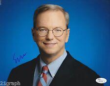 Eric Schmidt Signed 8x10 Photo w/ JSA COA #M93220 + PROOF Exec Chairman Google