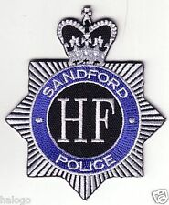 HOT FUZZ COMEDY POLICE PATCH VEL-KRO HOOK BACKING - HFUZ01V