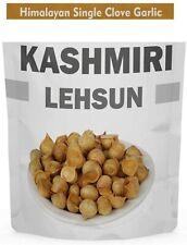 Kashmiri Lehsun Single Clove Garlic 450 Gram Round Garlic