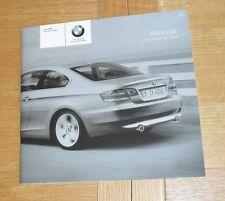 BMW 3 Series E92 Coupe Price List 2008 325i 335i 320d 325d 330d 335d M Sport