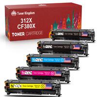 5 PK Toner CE410A -CE413A 305A Set For HP LaserJet Pro 300 400 color MFP M375nw