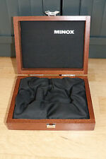 Minox Classic Camera original Holz-Schatulle, Wooden Box, very good condition.