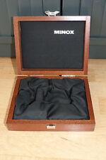Minox Classic Camera original Holz-Schatulle, Wooden Box, very good condition.