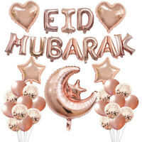 Foil Party Event Decor Inflatable Toys Festival Decoration Eid Mubarak Balloons