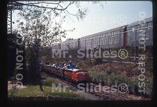 Original Slide LIRR Long Island & Miniature Train Passing LIRR 1964 World's Fair